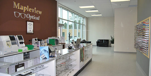 mapleview optical store